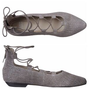 Eileen Fisher Loop2-td Pointed Toe Flats 9.5